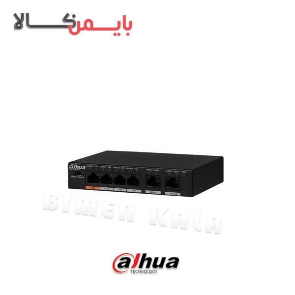دستگاه ضبط کننده تحت شبکه داهوا مدل DH-PFS3006-4ET-60