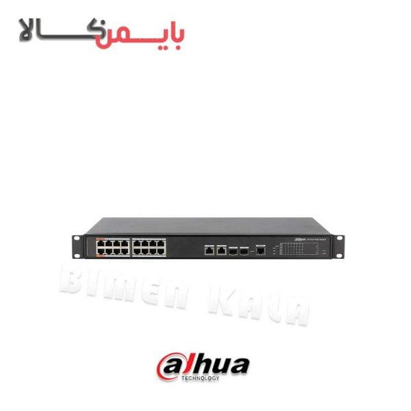 سویچ شبکه داهوا مدل DH-PFS4218-16ET-190