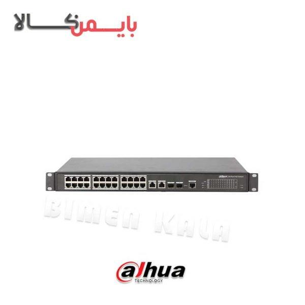 سویچ شبکه داهوا مدل DH-PFS4226-24ET-360
